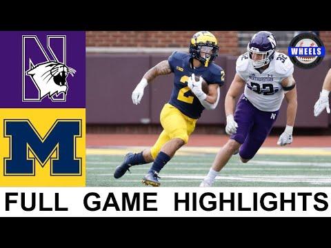 Download #6 Michigan vs Northwestern Highlights | College Football Week 8 | 2021 College Football Highlights
