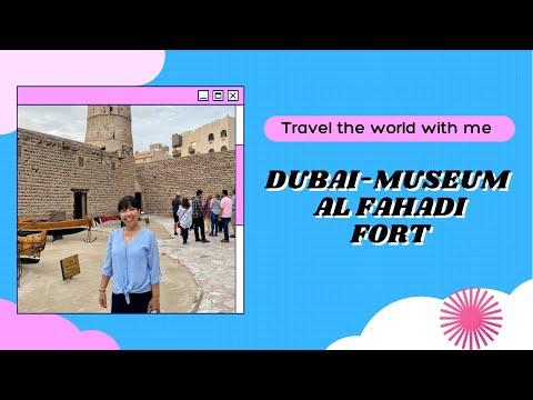 DUBAI MUSEUM AND AL FAHADI FORT, ZABEEL PALACE, DUBAI MARINA, VISIT TO SOUK MADINAT JUMEIRAH