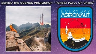 Behind The Scenes Photoshop - Great Wall of China thumbnail