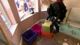 Linda And Stuart Discuss The Possibility Of A Window Bench - Peter Andre's 60 Minute Makeover