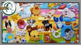 Let's play pet animal sticker
