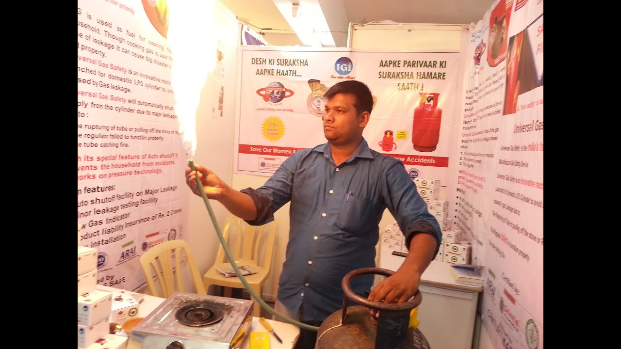 how to turn off gas cylinder india