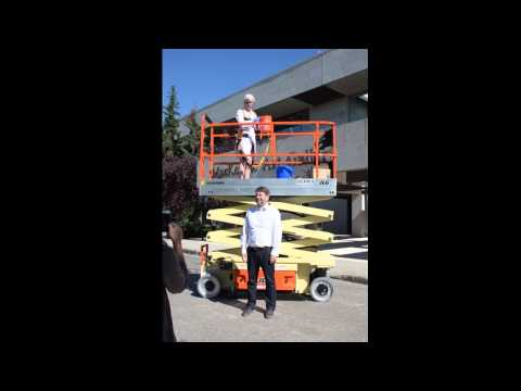 MacKenzie Art Gallery's Executive Director & CEO's Ice Bucket Challenge