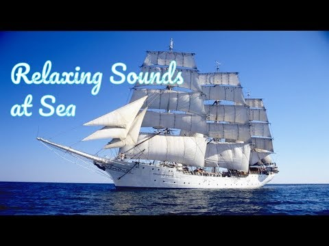 Ship Sailing at Sea, Relaxing Background Sounds to Study, Sleep, Concentrate