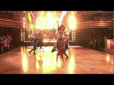 KISS [ Dancing With The Stars 4/9/12 ] Rock And Roll All Nite 1080p