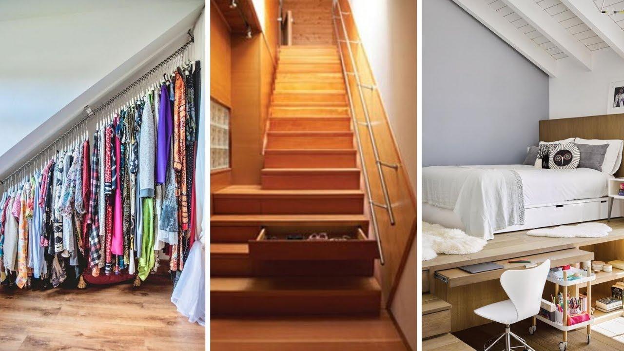 10 Small Loft Bedroom Storage Ideas Youtube