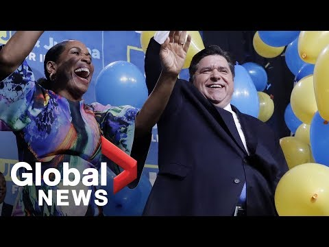 Midterm Elections: J.B. Pritzker gives victory speech after winning