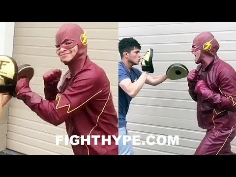 RYAN GARCIA TRANSFORMS INTO THE FLASH; CAN YOU KEEP UP WITH HIS PUNCHES?