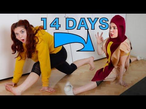 I learnt the splits in 14 days  