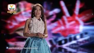 The Voice Cambodia - ម៉ម ស៊ីណា - មានជាតិក្រោយចាំជួបគ្នា - 31 Aug 2014