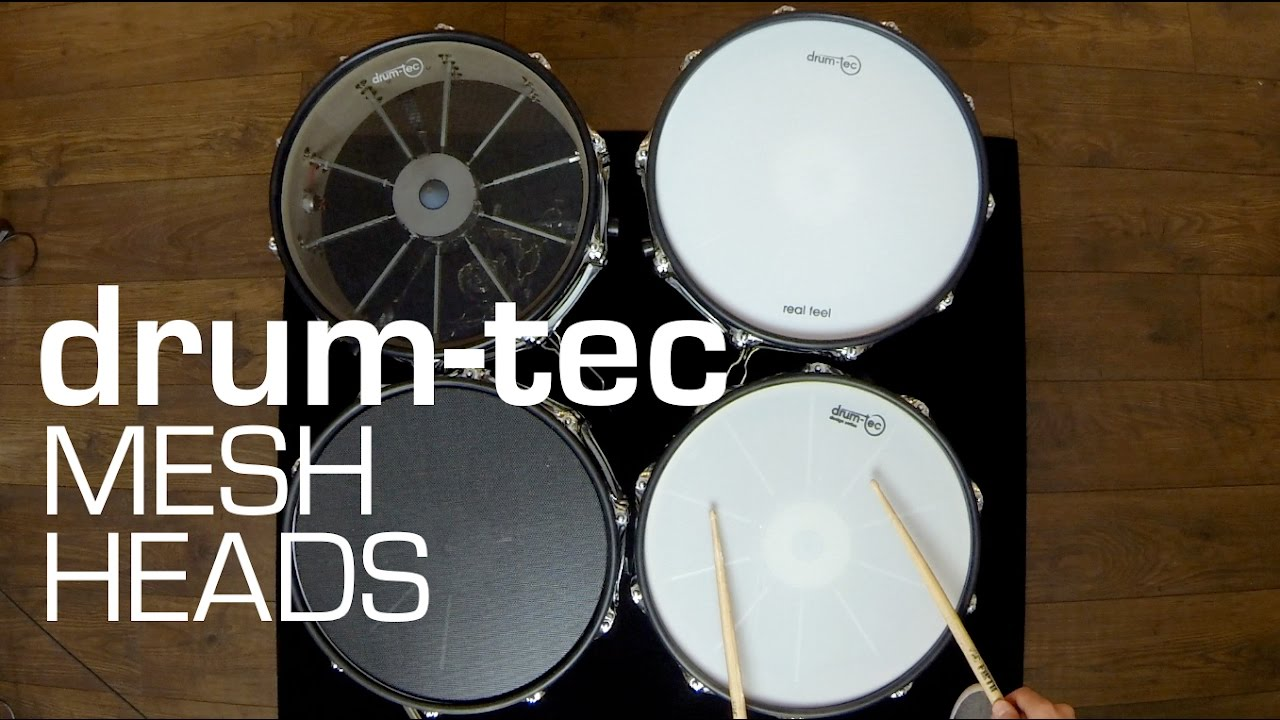 Drum Head Mesh : drum tec mesh heads for electronic drums see hear the differences youtube ~ Hamham.info Haus und Dekorationen
