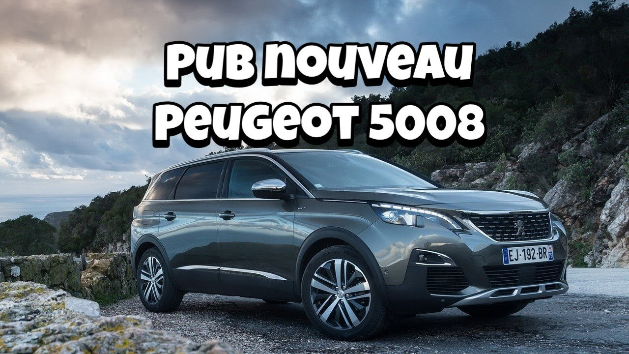 pub peugeot 5008 france 2017 youtube. Black Bedroom Furniture Sets. Home Design Ideas