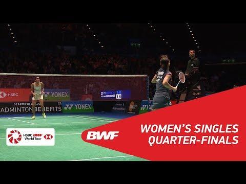 WS | Nozomi OKUHARA (JPN) [7] vs PUSARLA V. Sindhu (IND) [4] | BWF 2018