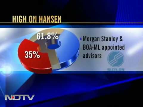 merger of suzlon energy and hansen group belgium