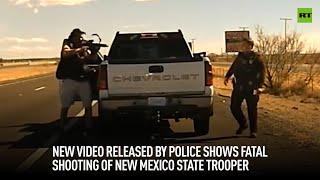 경찰이 공개 한 새 비디오는 뉴 멕시코 주 경찰의 치명적인 총격을 보여줍니다