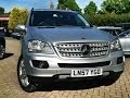 Mercedes-Benz M Class ML280 CDI Edition S 5dr Tip Auto 3.0 For Sale at CMC-Cars