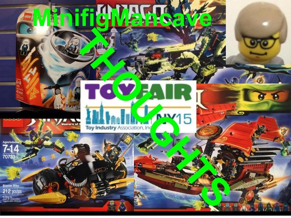 lego ninjago at new york toy fair 2015 my thoughts  youtube