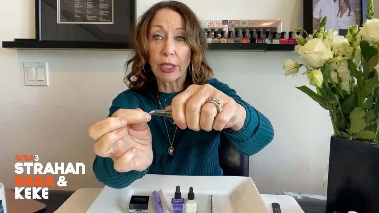 Celebrity manicurist answers your nail care questions
