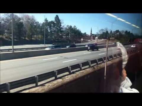 MBTA Commuter Rail Ride: Back Bay to Framingham