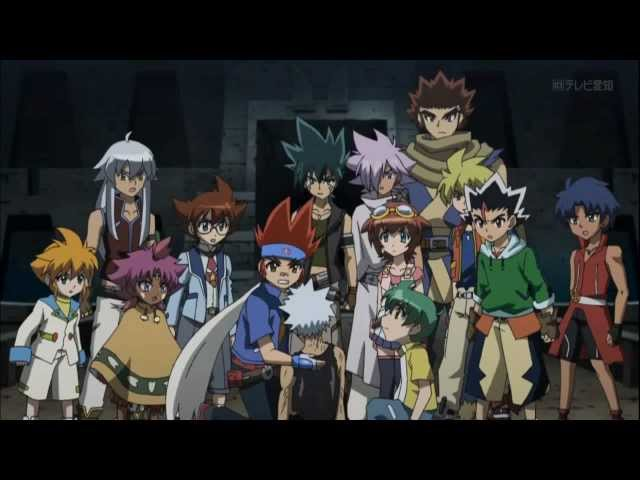 Metal Fight Beyblade 4D Episode 147  The Missing Constelation Of The Four Season