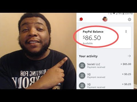 The Best Apps To Make Free PayPal Money Instantly! (Proof Of Free PayPal Money In The Video)