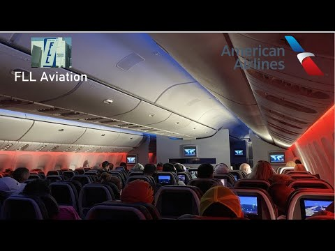 Trip Report: American Airlines Boeing 777-300ER Economy