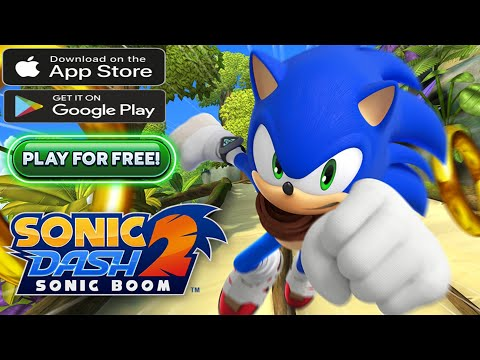 Free Android Game (SONIC DASH 2 Gameplay)