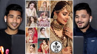 Reacting to Pakistani Actresses Bridal Look | Dress, Makeup, Jewellery & Hairstyle