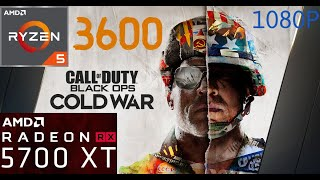 Cod Cold War Beta - Ryzen 5 3600 + 5700XT Nitro+ | 1080P All Ultra
