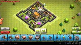 Beste Clash of Clans Rathaus 5 Verteidigung BEST | Awesome Townhall 5 Defence!! SPEED BUILD