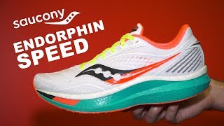 Saucony Endorphin Speed First Look | Fast and Versatile