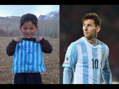 Bocah Seragam Kantong Kresek Lionel Messi, Kini Hidup dalam Teror Taliban
