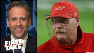 'Andy Reid doesn't coach scared!' - Max Kellerman gives props to the Chiefs head coach | First Take