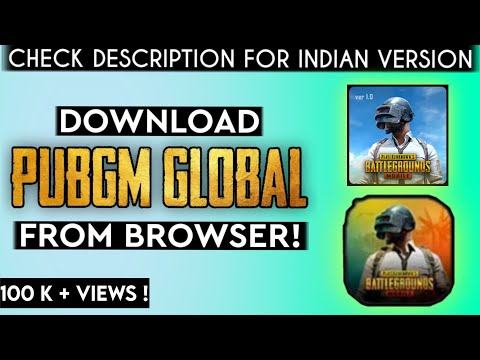 How To Download PUBG MOBILE Through Any BROWSER | Adicreator