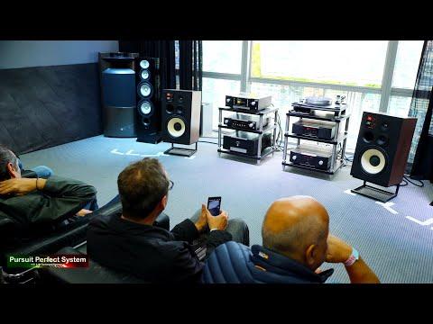 NEW Mark Levinson No.5805 JBL L100 Classic HiFi Speakers @ Munich High End Show 2019