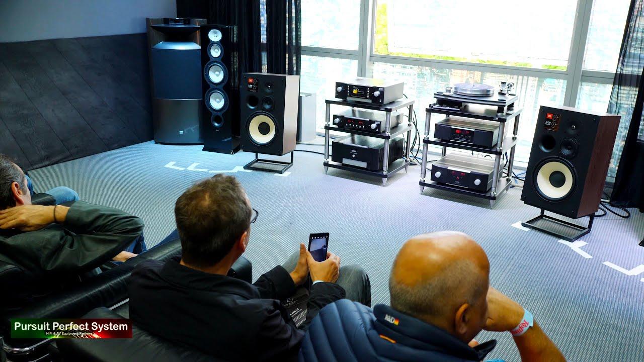 NEW Mark Levinson No 5805 JBL L100 Classic HiFi Speakers @ Munich High End  Show 2019