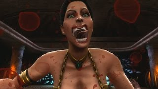 Mortal Kombat 9 Komplete Edition - Mileena Victory Pose *All Females/Costumes* MOD (HD)