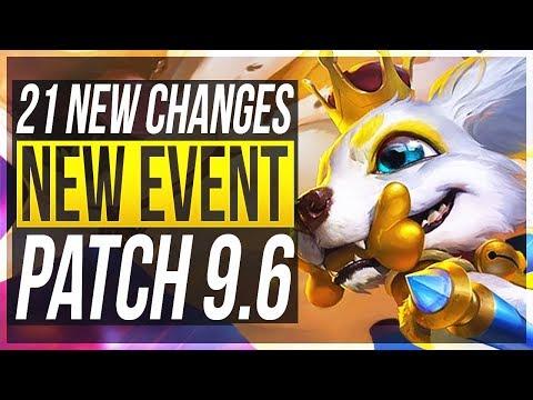 URGOT REWORK & NEW EVENT - 21 New Changes & OP Champs Patch 96 - League of Legends