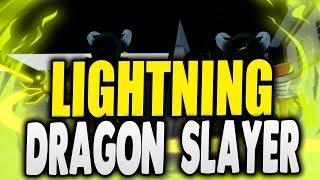 NEW Lightning Dragon Slayer Magic | Magic Revelations [Roblox Fairy Tail] | iBeMaine