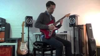 (SOLD) 1969 Fender Swinger Dakota Red - Pascal Waisapy Guitars