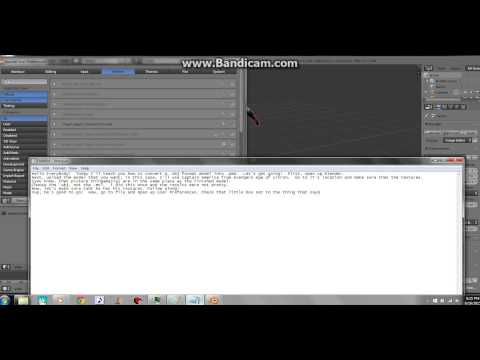 Download How To Export Blender Model To Pmx Pmd And Mmd Pymeshio