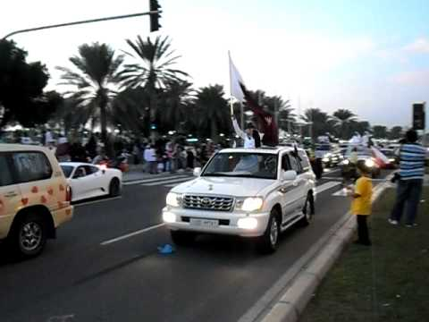 2022 FIFA World Cup Qatar  - Bid winning celebrations in Qatar