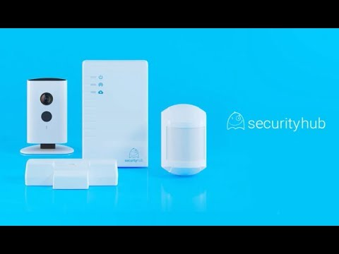 Беспроводная интернет-сигнализация Security Hub