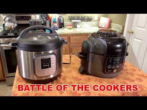 BATTLE OF THE COOKERS - Instant Pot vs Ninja Foodi