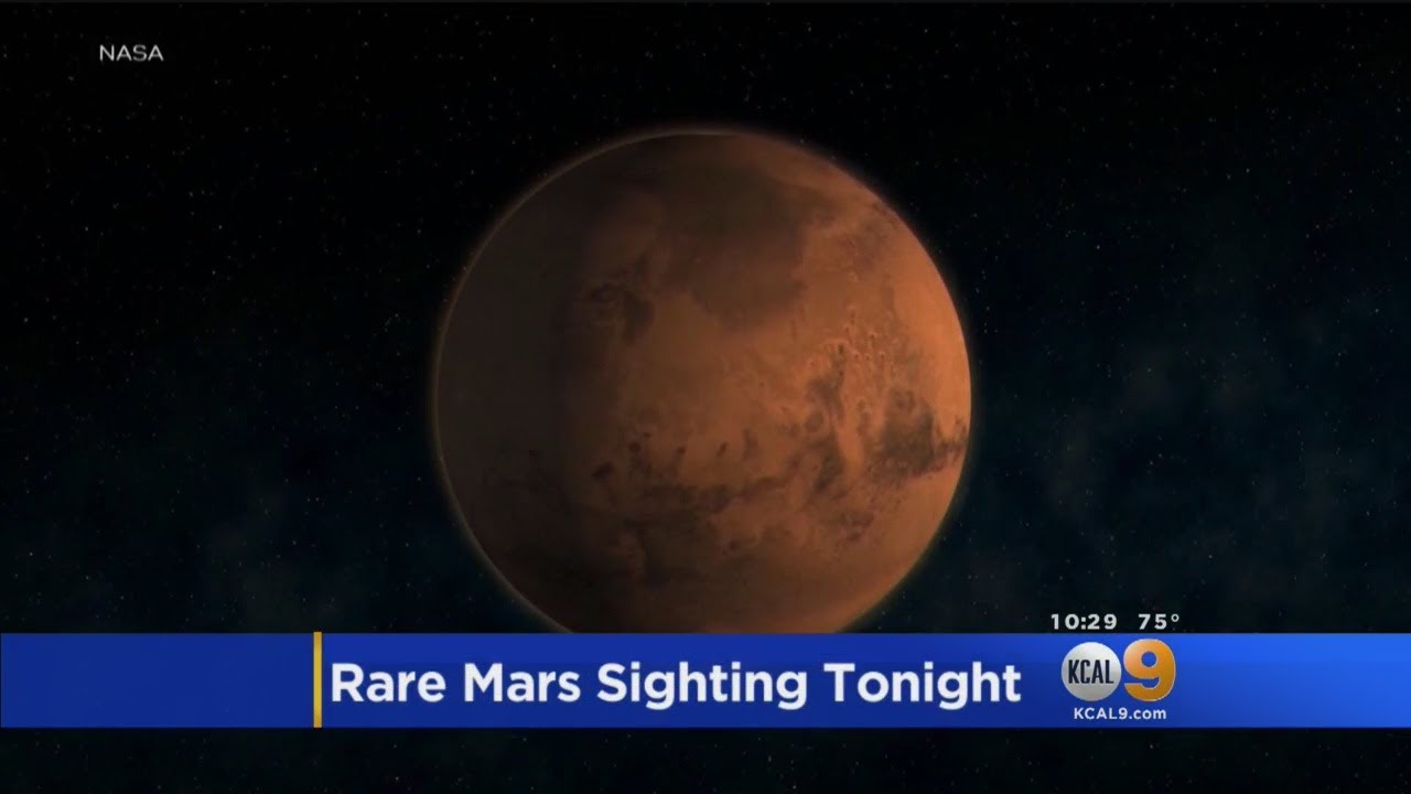Mars Makes Its Closest Approach to Earth Since 2003 Early Tuesday! Here's How to Watch