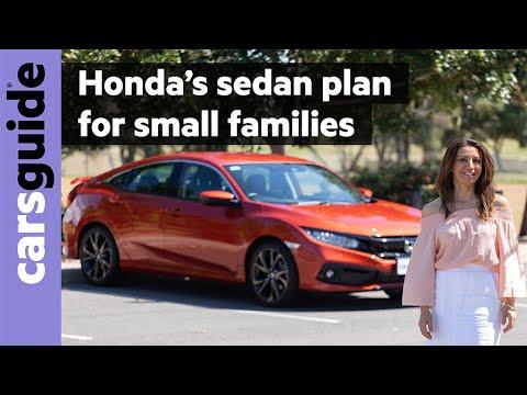 Honda Civic 2020 review: RS sedan