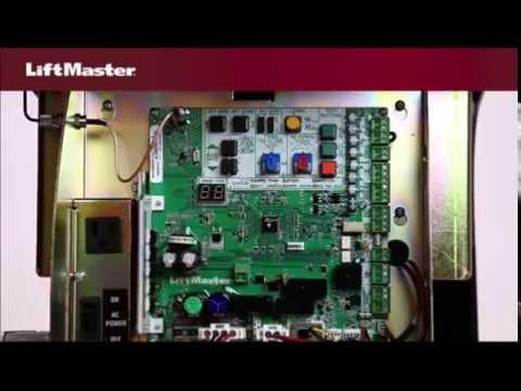 Main Disconnect Wiring Diagram Liftmaster Elite Series Csl24ul Dc Slide Gate Opener Youtube
