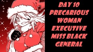 AH Day 10 Precarious Miss Black General (12 Days of Anime 2016)