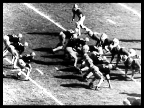 Army-Notre Dame football game 1957 - YouTube