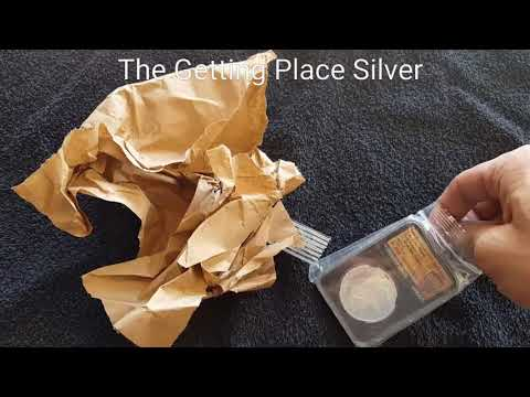 Provident metal unboxing new prospector round, special slab and a quick look at my favorite bar